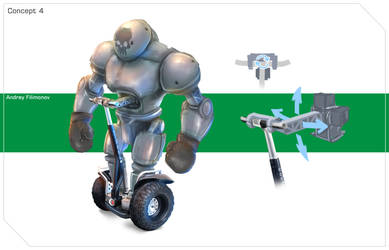 Robot boxer on Segway by AndyFil