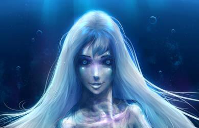 Deep sea mermaid by AndyFil