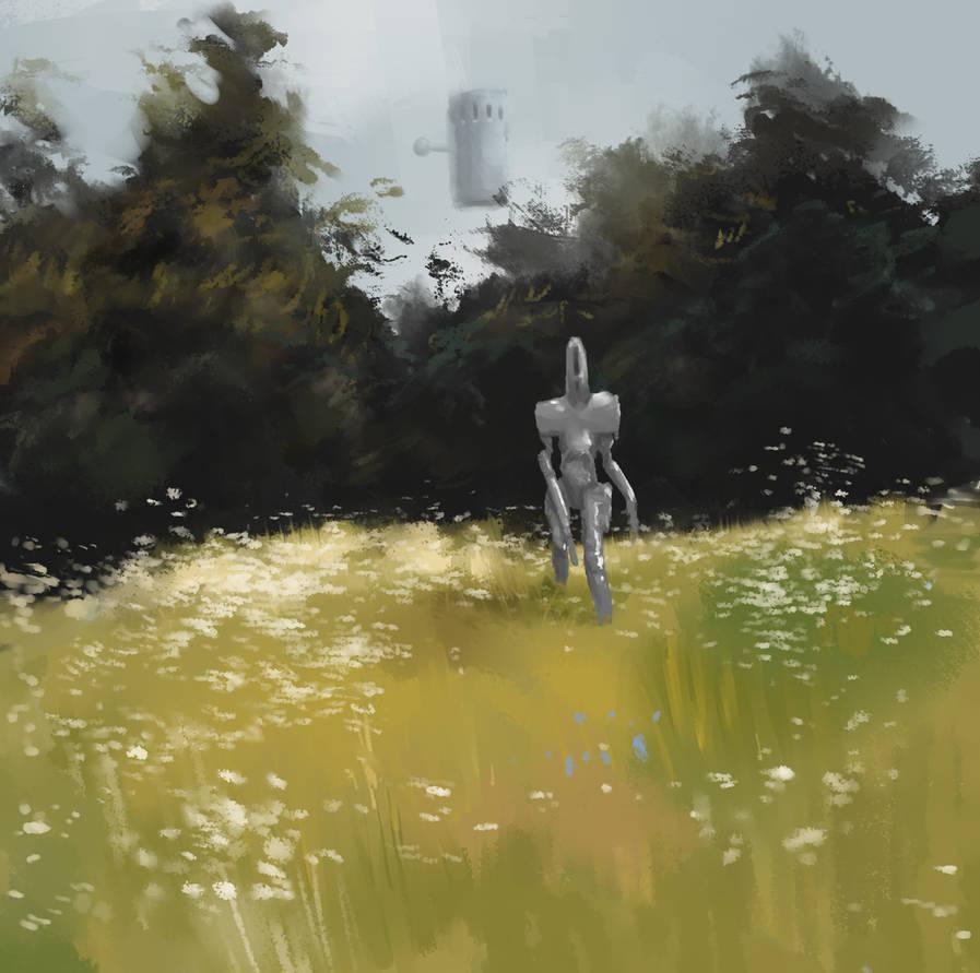 Meeting in the meadow by AndyFil