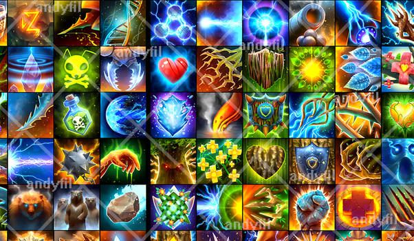 Part of 300 icons