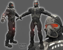 Crysis Nano Suit PreRigged by sevenmelons83