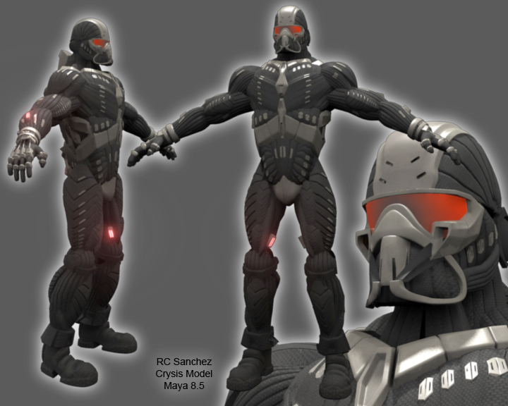 Crysis Nano Suit PreRigged By Sevenmelons83 On DeviantArt