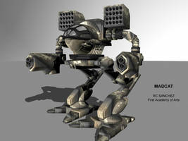 Madcat Mech by sevenmelons83