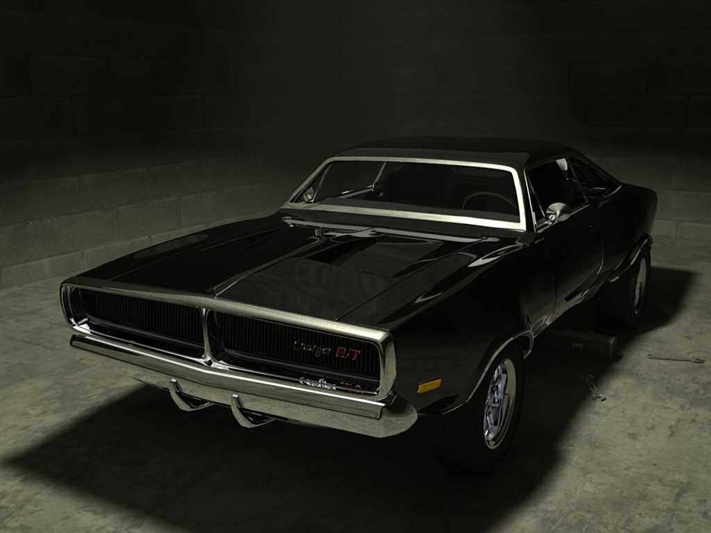 Fast and Furious Dodge Charger Black