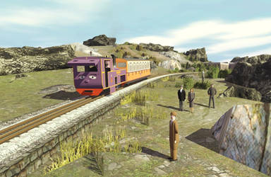 The Railway Series No. 19 Mountain Engines by Hilltrack