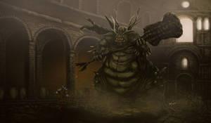 Dark Souls - Asylum Demon