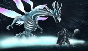 Dark Souls - Seath the Scaleless by OniRuu