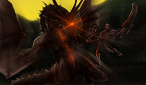 Dark Souls - Black Dragon Kalameet