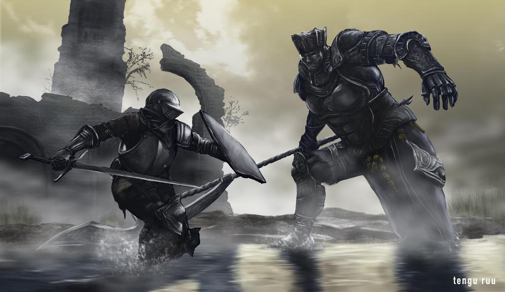 Dark Souls 3 - Iudex Gundyr by OniRuu