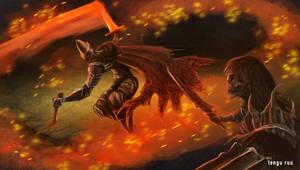 Dark Souls 3 - Abyss Watchers by OniRuu