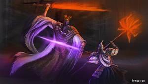 Dark Souls 3 - Pontiff Sulyvahn by OniRuu