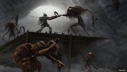 Bloodborne - Witch of Hemwick by OniRuu
