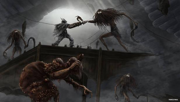 Bloodborne - Witch of Hemwick