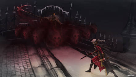 Bloodborne - Martyr Logarius by OniRuu