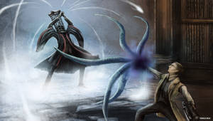 Bloodborne - Micolash, Host of the Nightmare
