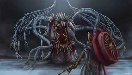Bloodborne - Ebrietas, Daughter of the Cosmos by OniRuu