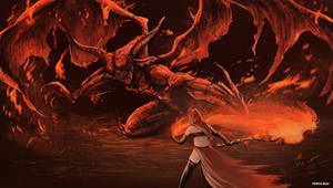 Dark Souls 3 - Demon Prince by OniRuu