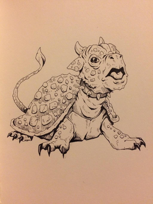 Inktober Day 29 - Animal Amalgam  by OniRuu