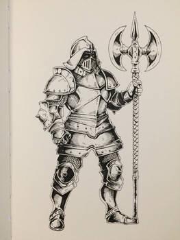 Inktober Day 30 - Elite Guard