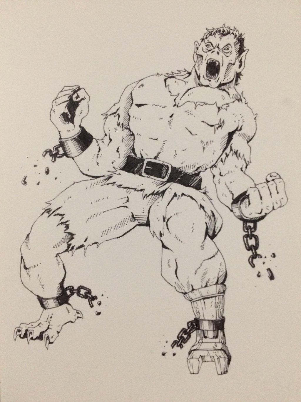 Inktober Day 31 - Final Drawing by OniRuu