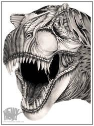 Tyrannosaurus Rex V.2 by HeavyClaw