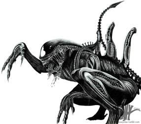 Alien by HeavyClaw