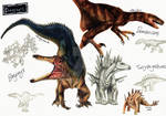 NHM Sketches: Dinosaurs 1