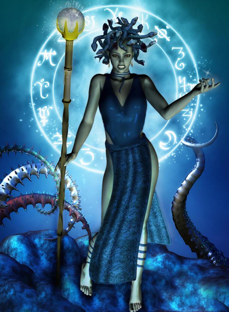 Medusa by paras2e