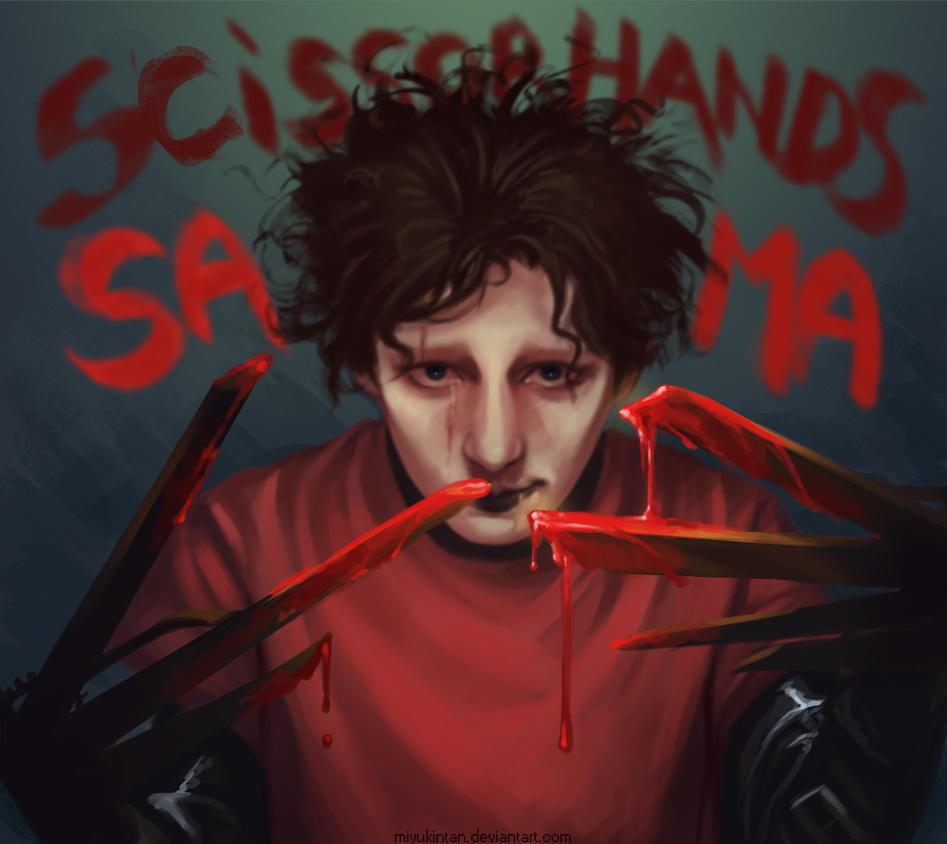 Scissorhands Sama by MiyuKinTan