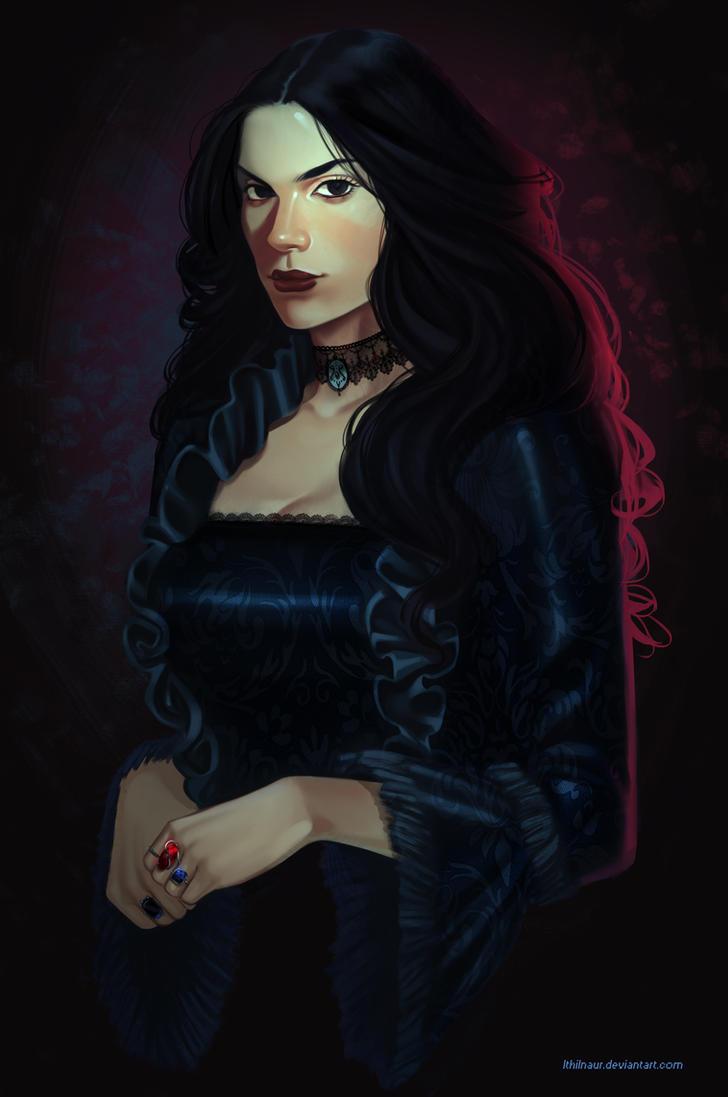 Jacqueline - bust commission by Ithilnaur