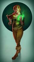 Elaina - fullbody colored commission