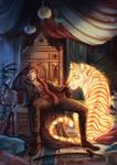 Elias - The Silent Age - Illustration commission