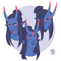 The Bodyguard expression sheet commission