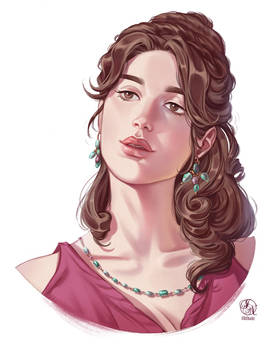Viviana - Portrait commission