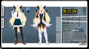 [BnHA] Sheet: Hikaru Kurohane