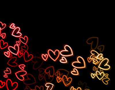 light texture 4 hearts by graphicavita
