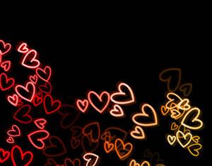 light texture 4 hearts