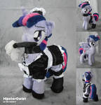 Maid Twilight with removeable Wings - Plushie