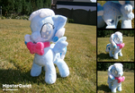 Snowdrop Plushie with Bow-tie