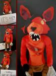 Handmade Five Nights at Freddy's Plushie - Foxy