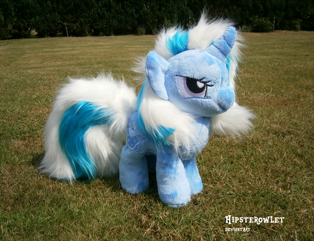 The Great and incredibly Fluffy Trixie - Plush by HipsterOwlet