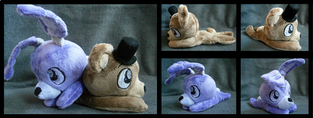 For sale fnaf bonnie and freddy beanies by hipsterowlet d9f52e8