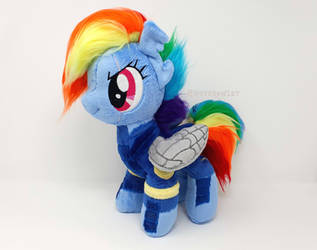 Handmade War Pony Rainbow Dash by HipsterOwlet