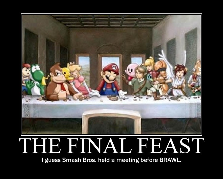 The Final Feast of SMASH BROS....