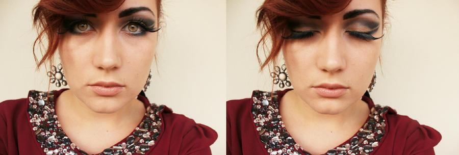 glamour makeup by hmisha