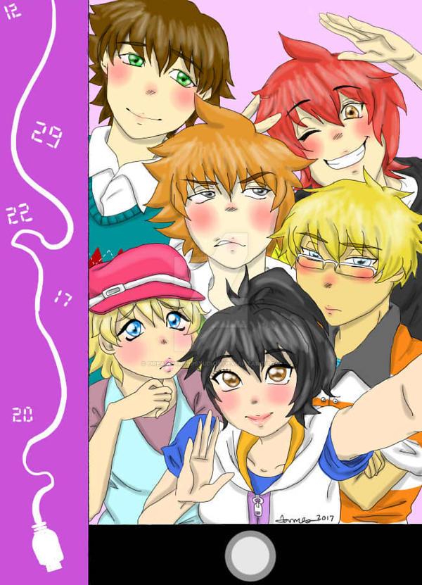 Number Days Sim Date Fan Art by DreamySheepStudios