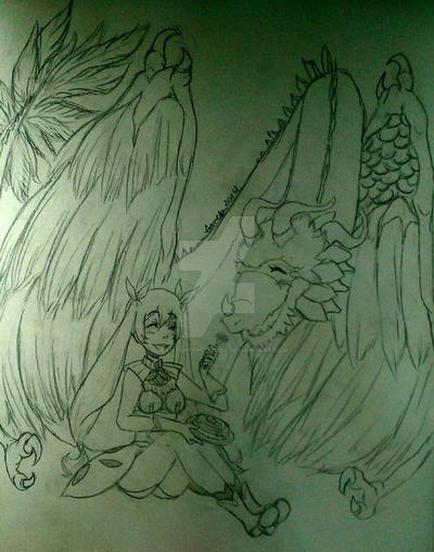 Frey and Ventuswill by DreamySheepStudios