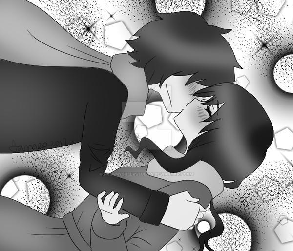 A Tender Kiss by DreamySheepStudios