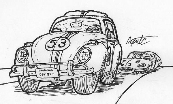 Herbie Guns It by AgentC-24 on DeviantArt
