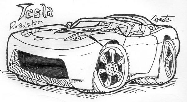 Image Result For Wallpaper Tesla Motors Sports Car